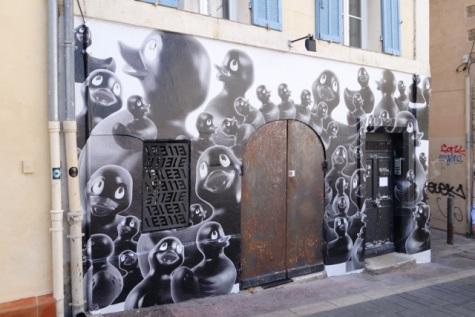 Street art in Marseilles