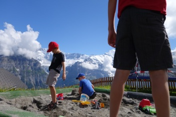 Sandpit at First, 2168m