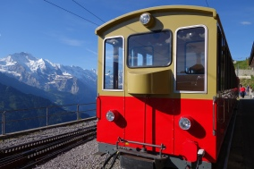 Train to Schynige Platte