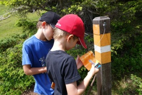 Orienteering for kids