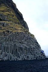 Basalt cliffs near Vik