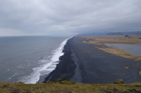 Black sand beach near Vik