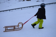 Tobogganing also carries risks but many survive