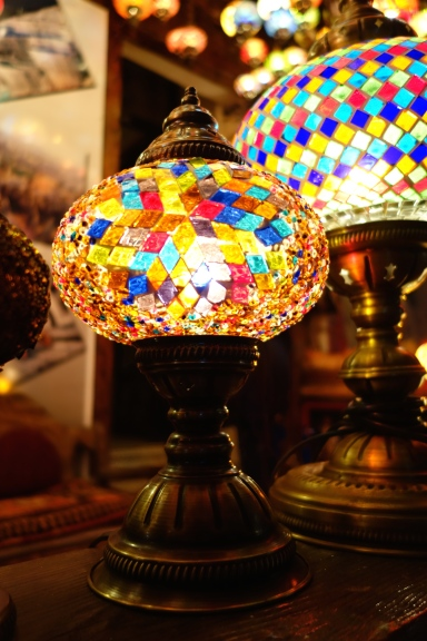 The classic Turkish lamp
