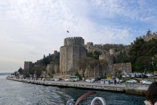 The 15th Century Rumelihasari (the Fortress of Europe) was constructed just four months and 16 days .