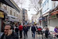 Street scene on the Asian side of the Bosphorus