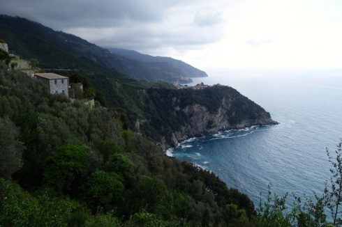 On the trail to Corniglia