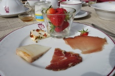 Traditional Corsican breakfast food.